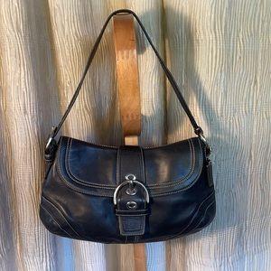 Vintage Coach Soft Leather small shoulder bag
